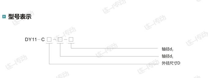 梅花形弹性联轴器型号表示