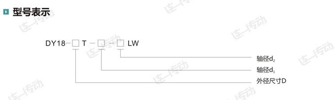 膜片胀套联轴器型号表示