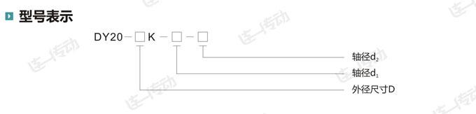 星形弹性联轴器型号表示